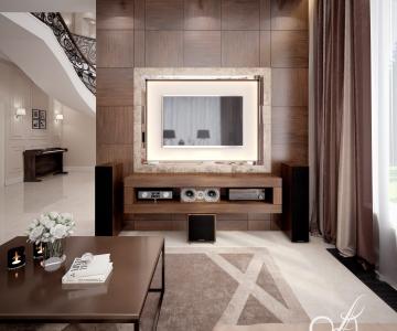 Дизайн дома, Гостиная 1