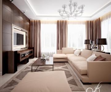 Дизайн дома, Гостиная 3
