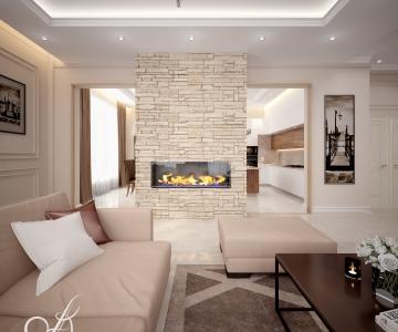 Дизайн дома, Гостиная 7