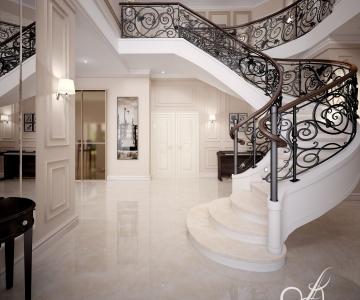 Дизайн дома, Холл 1