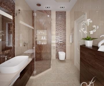 Дизайн дома, Санузел род 3