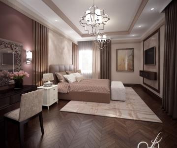 Дизайн дома, Спальня 1