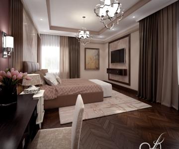 Дизайн дома, Спальня 5