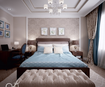 Дизайн дома, Спальня Д 1
