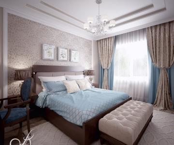 Дизайн дома, Спальня Д 2