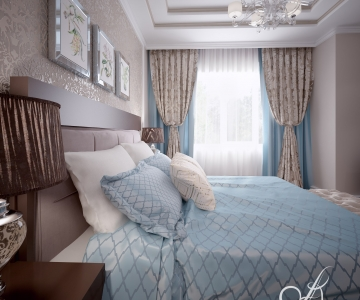 Дизайн дома, Спальня Д 3
