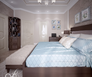 Дизайн дома, Спальня Д 4