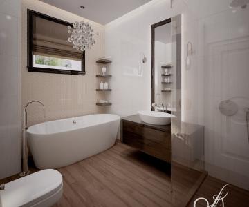 Дизайн дома, Ванная 1