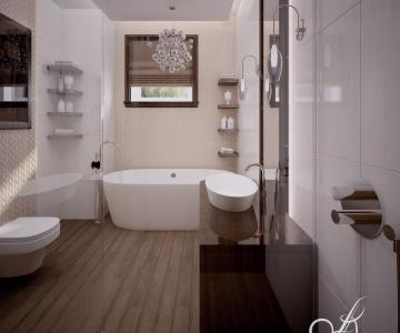 Дизайн дома, Ванная 3