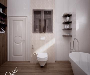 Дизайн дома, Ванная 5