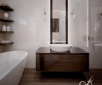 Дизайн дома, Ванная 6
