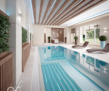 Дом с бассейном  2