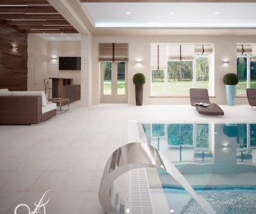 Дом с бассейном  4