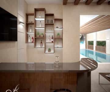 Дом с бассейном  7