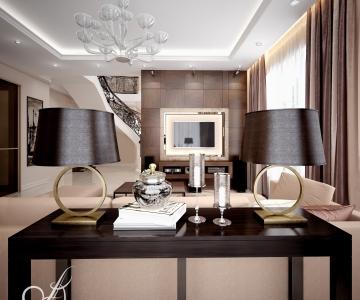 Дизайн дома, Гостиная 2