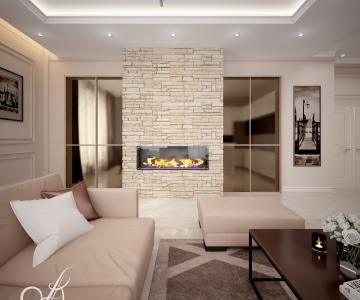Дизайн дома, Гостиная 8