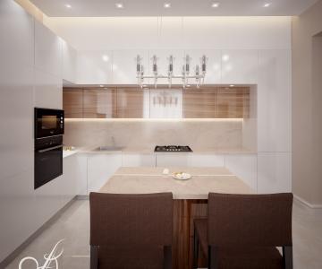 Дизайн дома, кухня 2