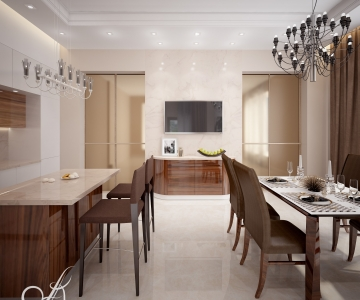 Дизайн дома, кухня 3