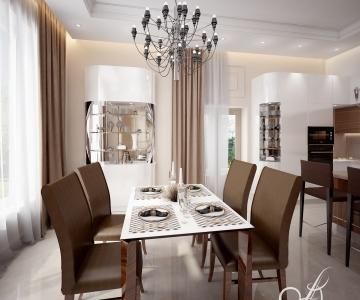Дизайн дома, кухня 4
