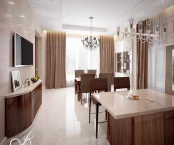 Дизайн дома, кухня 5