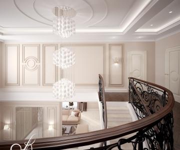 Дизайн дома, Холл 2 этаж 2