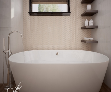 Дизайн дома, Ванная 4