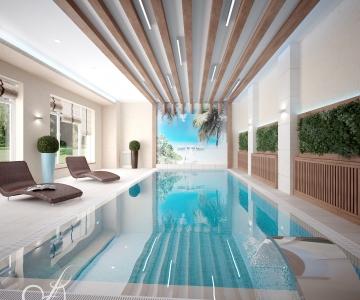 Дом с бассейном  1