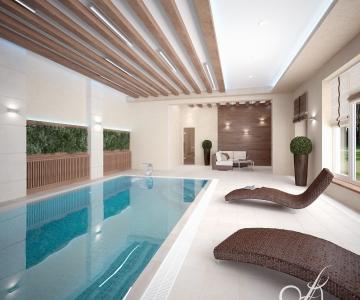 Дом с бассейном  3