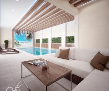 Дом с бассейном  5